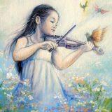 La niña violinista